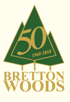 Bretton Woods 50th Anniversary logo